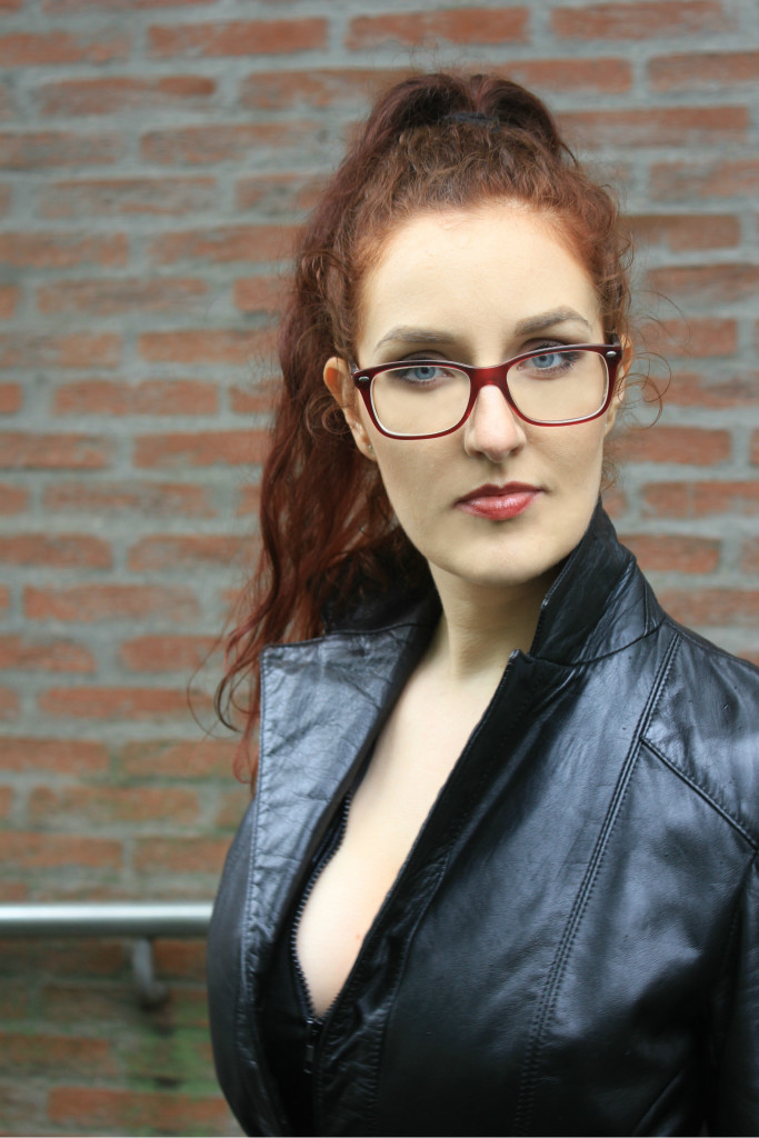 in leather - mistress myra